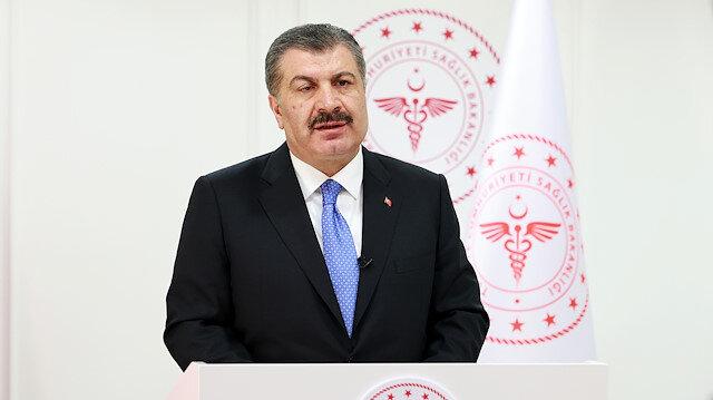 Sağlık Bakanı Koca paylaştı: İlk doz aşısı yapılanların oranı yüzde 60'a ulaştı