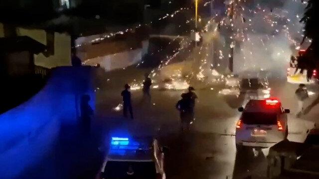 İşgalci İsrail güçlerinden Filistinlilere silahlı saldırı