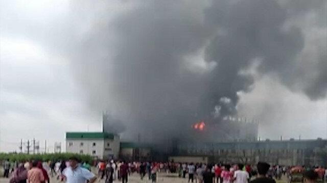 Bangladeş'te gıda fabrikasında yangın: En az 40 kişi hayatını kaybetti