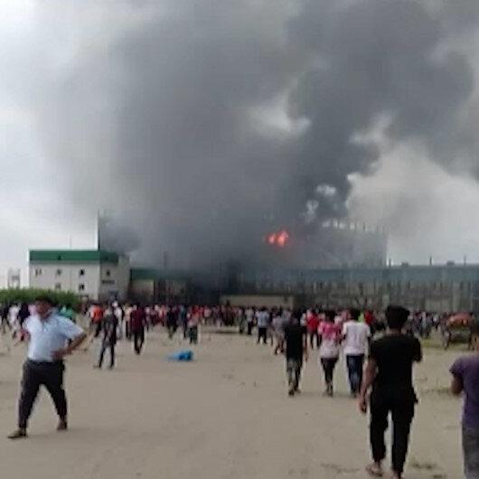 Bangladeşte gıda fabrikasında yangın: En az 40 kişi hayatını kaybetti