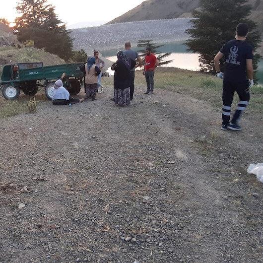Afyonkarahisar'da acı olay: Kızını kurtardı yeğeni ile birlikte gölette boğuldu