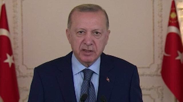 Cumhurbaşkanı Erdoğan'dan Srebrenitsa Soykırımı'nın 26. yıldönümü mesajı