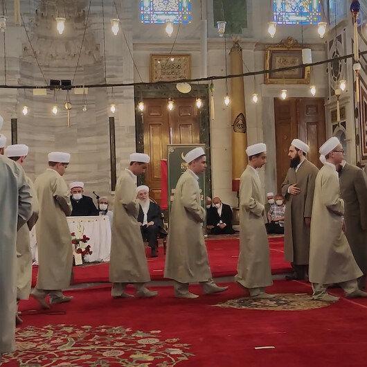 Hafızlık eğitimini tamamlayan 29 talebe Fatih Camiinde düzenlenen törenle icazet aldı