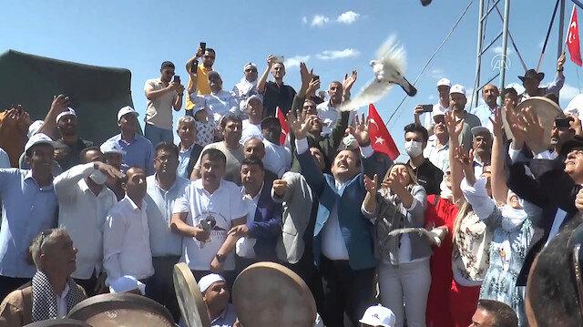 Terörden temizlenen Cudi Dağı'nın Sefine bölgesinde festival düzenlendi