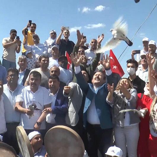 Terörden temizlenen Cudi Dağının Sefine bölgesinde festival düzenlendi