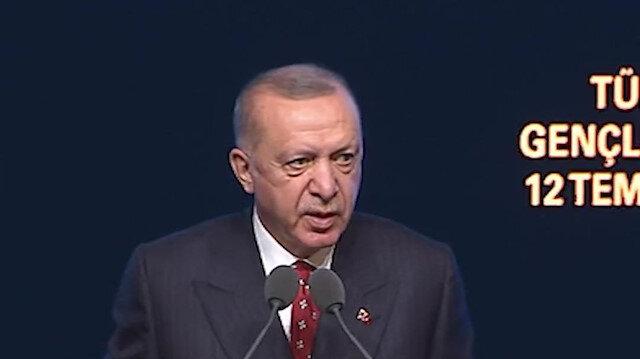 Cumhurbaşkanı Erdoğan: Avrupa'sından Kanada'sına her fırsatta bize insan hakları nasihati verenlerin tarihindeki utanç lekeleri ortaya dökülüyor