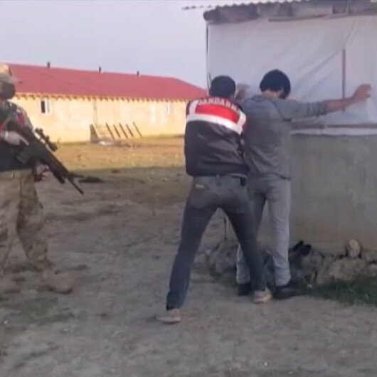 Erzurumda PKKya yardım ve yataklık eden 7 şahıs operasyonla yakalandı