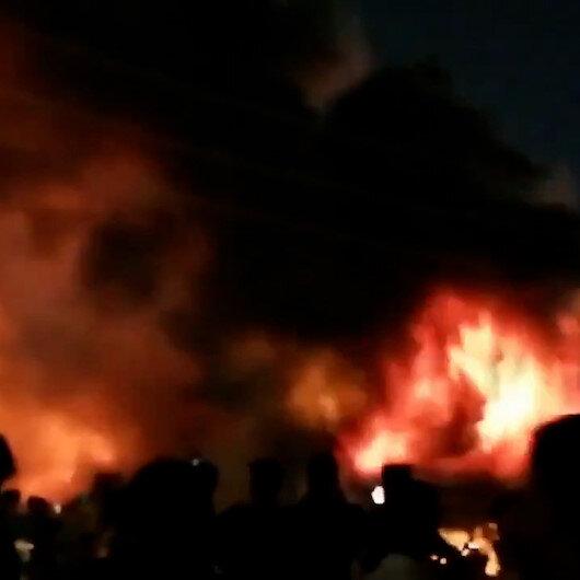 Irakta koronavirüs hastalarının kaldığı hastanede yangın: Ölü ve yaralılar var