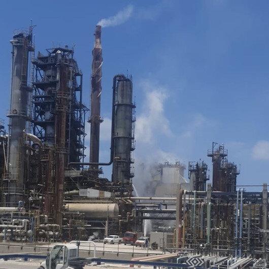 İşgalci İsraile ait petrol rafinerisinde patlama