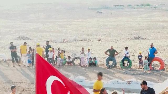 Harranlı çocuklar profesyonel 'Survivor' parkurunda yarışıyor