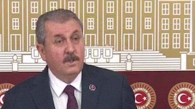 BBP Genel Başkanı Destici: Hangi dine ait olursa olsun bütün ibadet yerleri kutsaldır