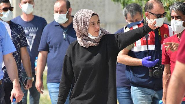 Büyükşen cinayetinde 24 gözaltı: Büşra Büyükşen'e olay yerinde keşif yaptırıldı