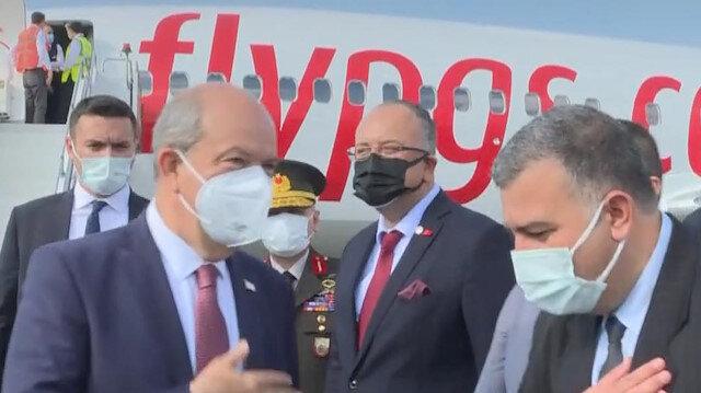 KKTC Cumhurbaşkanı Ersin Tatar Adana'ya geldi