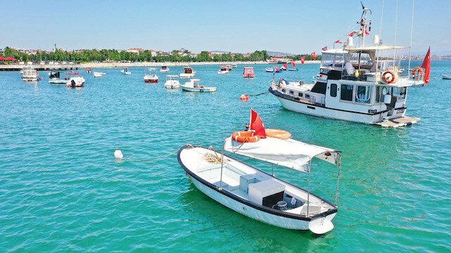 Marmara'ya balık ve midye takviyesi