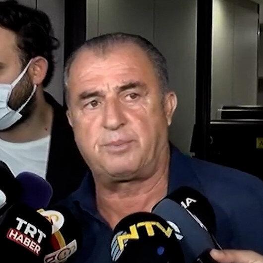 İstanbula dönen Fatih Terimden açıklama: Bu Galatasaraya yapılmadı nereye yapıldığı çok açık