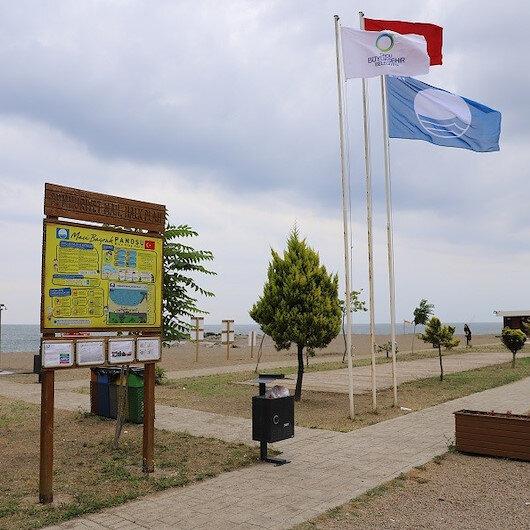 Ordu'da iki plaja 'Mavi Bayrak' ödülü