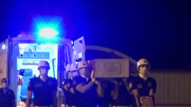 Hakkari'de şehit İl Emniyet Müdür Yardımcısı Hasan Cevher için tören düzenlendi