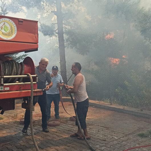 Hastaneye yakın alanda yangın: Osmaniye'de çıkan orman yangınına müdahale ediliyor