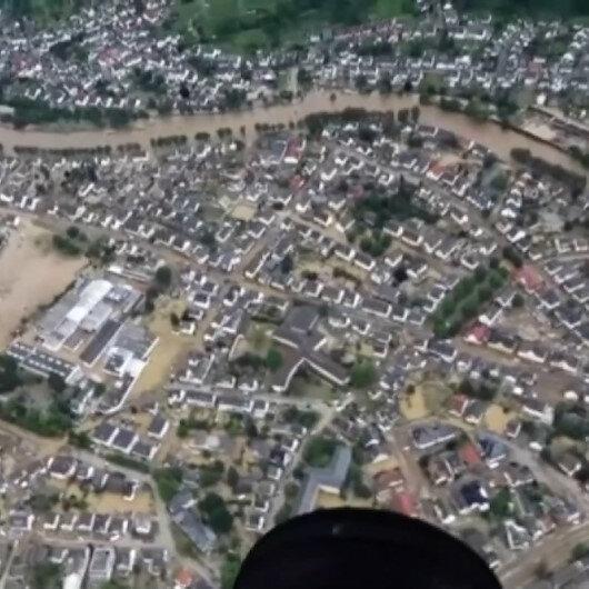 Almanyada sel felaketinde can kaybı 42'ye yükseldi