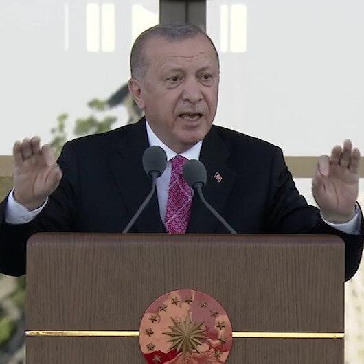 Cumhurbaşkanı Erdoğan: FETÖnün son ferdi hesap verene kadar mücadelemiz sürecek