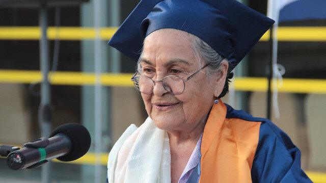 93 yaşında mezun oldu: Bayraktarımız da var ATAK'ımız da daha çok şeyler olacak