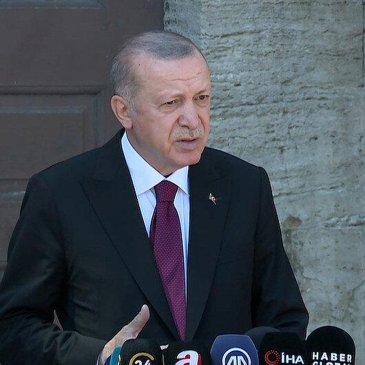 Cumhurbaşkanı Erdoğan Rizedeki sel felaketiyle ilgili konuştu