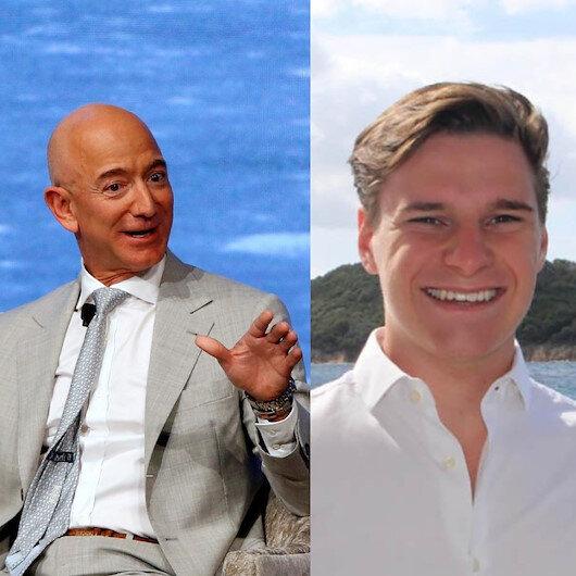 Jeff Bezos'un yeni yol arkadaşı belli oldu: Uzaya gidecek en genç isim olacak