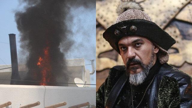 Ünlü oyuncu Kaan Çakır'ın Bodrum'daki restoranında yangın
