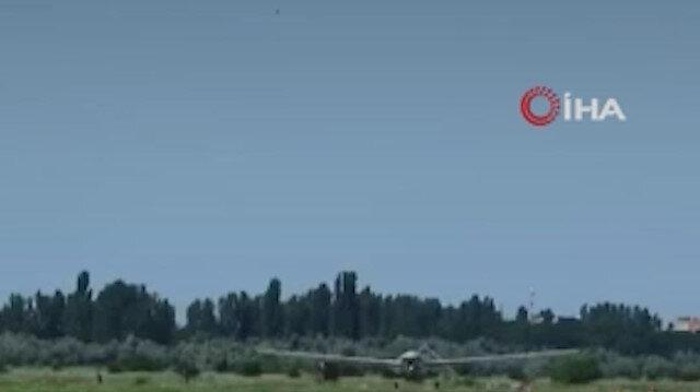 Bayraktar TB2 Ukrayna semalarında: İlk test uçuşunun görüntüleri yayınlandı