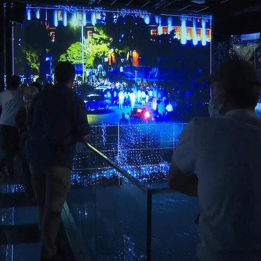 15 Temmuz Demokrasi Müzesi ziyaretçilerini ağırlıyor: Devletimiz çok güzel yapmış unutmamak için her sene gelebilirim