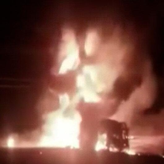 Kenyada akaryakıt tankeri patladı: 13 ölü, 11 yaralı
