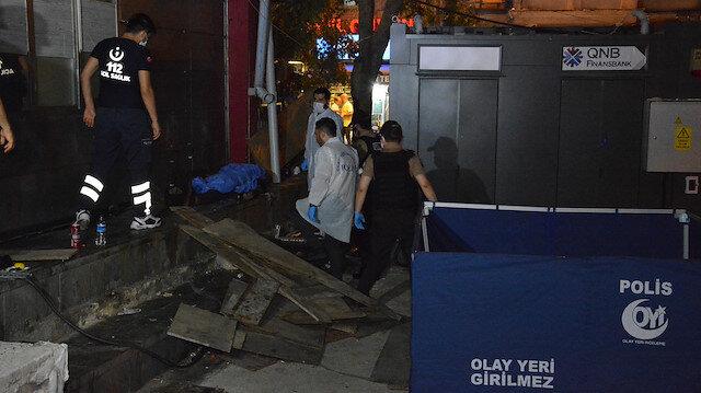 Beyoğlu'nda şüpheli ölüm: Taksi durağının arkasında bulundu
