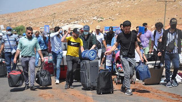 Cilvegözü'nden 44 bin 220 Suriyeli ülkesine geçti: Evlenmek için giden de var hasret gidermeye giden de