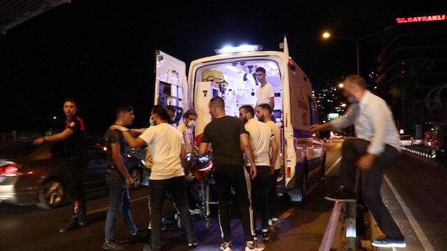 İZBAN istasyonunda 'omuz atma' kavgası: 1 ölü, 3 yaralı
