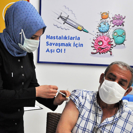 Türkiye en çok aşı yapılan 8'inci ülke