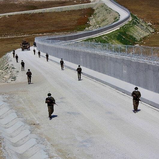 Hudut Kartalları bayramda da sınır nöbetinde