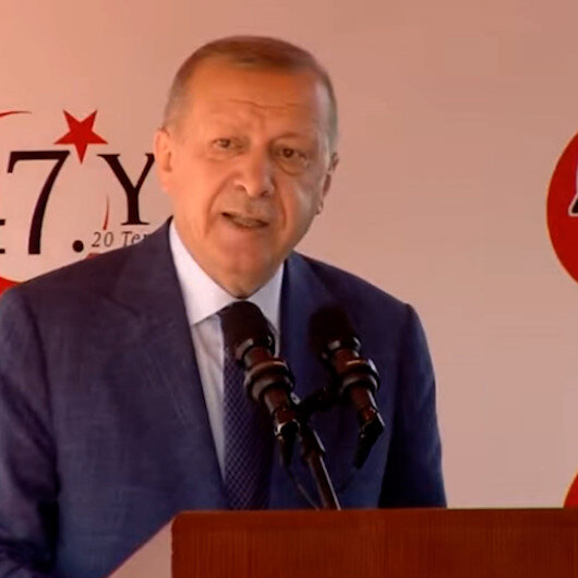Cumhurbaşkanı Erdoğan: Kimse bundan sonra geriye dönüş beklemesin