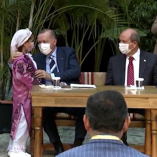 9 yaşındaki Nida Sudan Cumhurbaşkanı Erdoğana şiir
