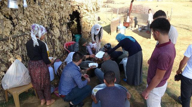 Terörden temizlenen Şen yaylada Kurban Bayramı sevinci