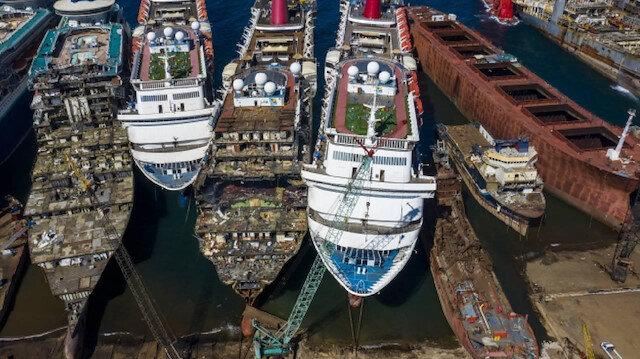 Hurda gemilerden ekonomiye 157 milyon dolar