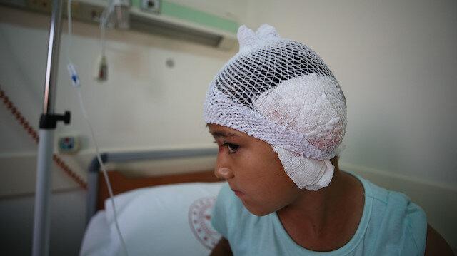 Balıkesir'de başıboş pitbull dehşeti: 8 yaşındaki Reyyan kulağından oldu