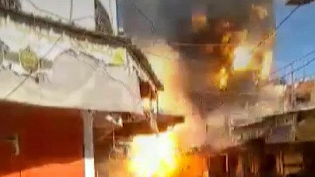Gazze'de bir evde patlama: 1 ölü 10 yaralı