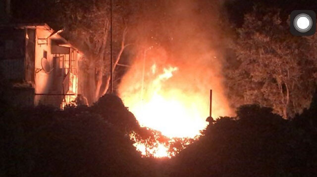 Fatih'te korkutan yangın: Trafo alev alev yandı