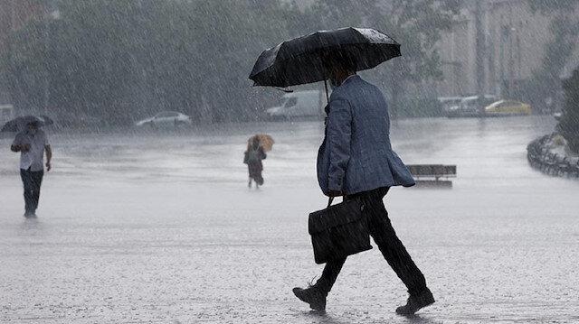 Meteoroloji uyardı: 7 ilde kuvvetli yağış bekleniyor