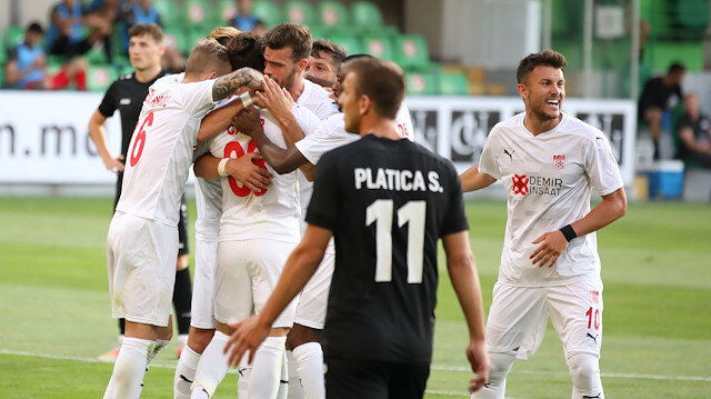 Sivasspor tur için avantaj yakaladı