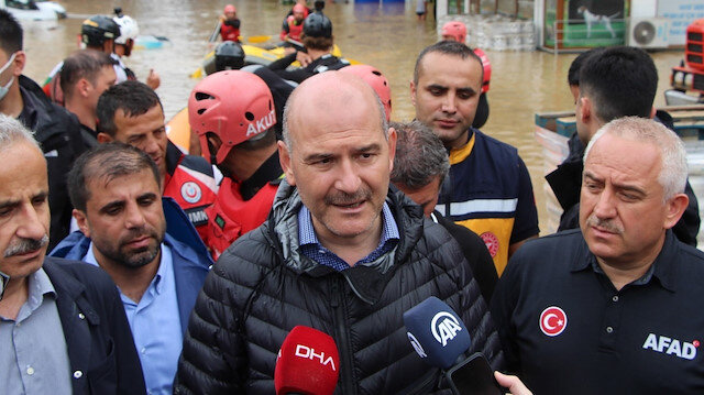 İçişleri Bakanı Soylu: Bir vatandaşımız kayıp
