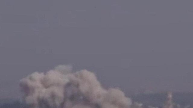 Esad rejimine destek veren Rus savaş uçakları İdlib'te art arda hava saldırısı düzenledi