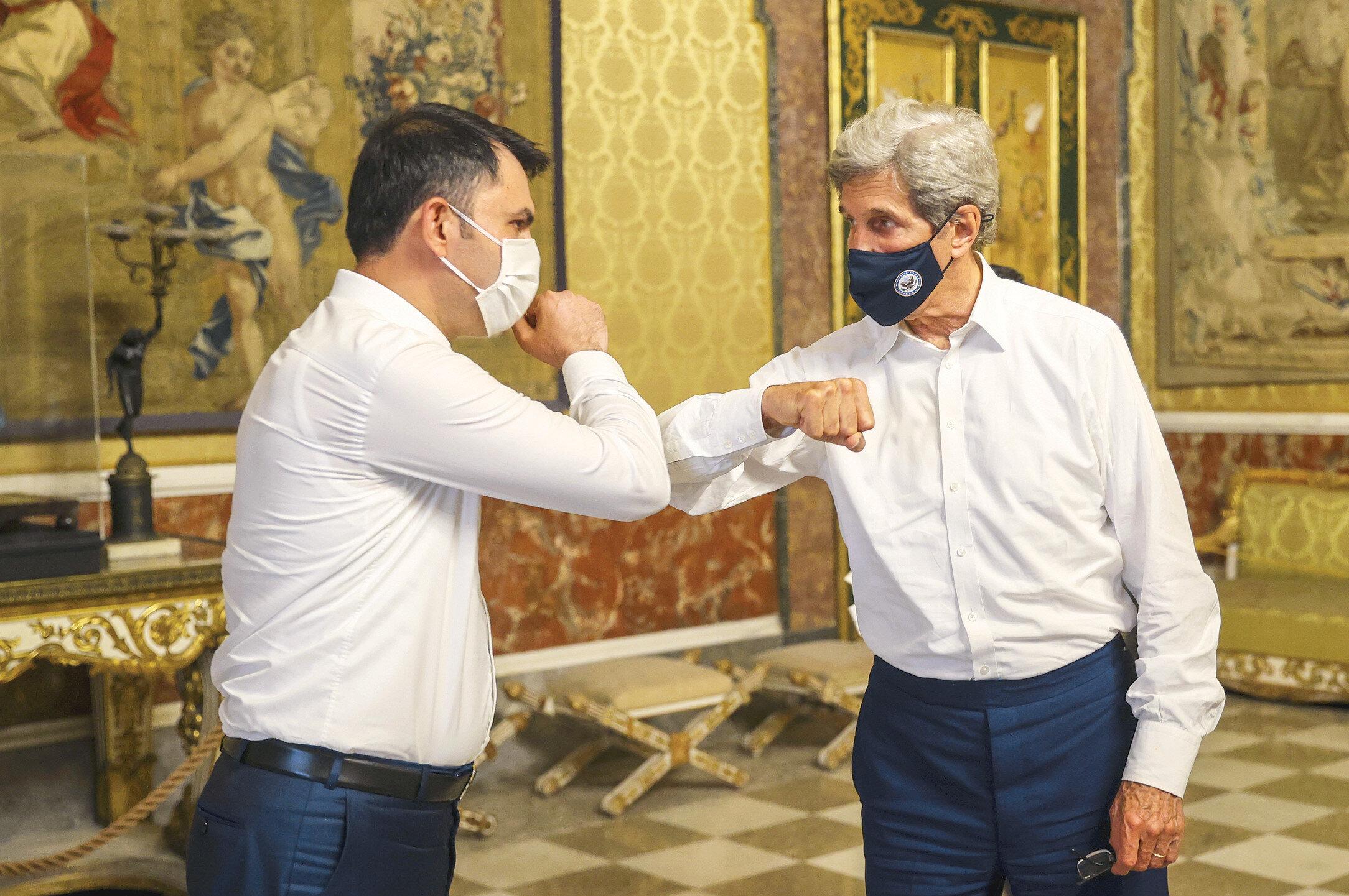 Bakan Murat Kurum - John Kerry