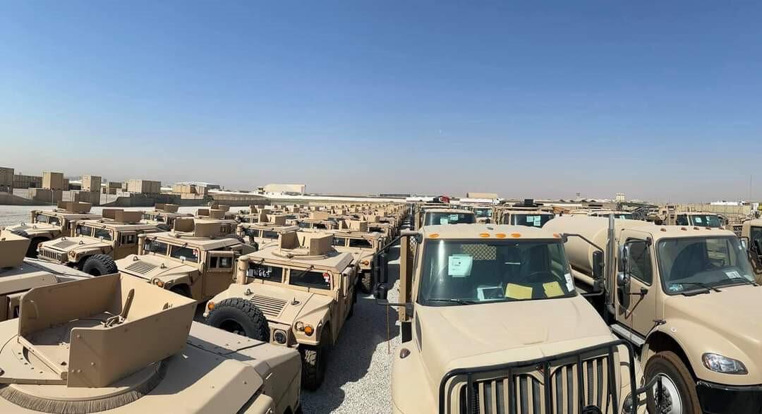 Araçlar terör örgütü DEAŞ ile mücadele için verildi.