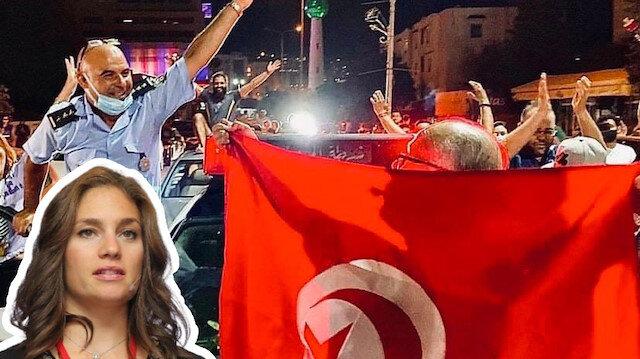 Nevşin Mengü'den Tunus'taki darbeyle ilgili sevinç tweeti